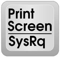 keyboard print screen