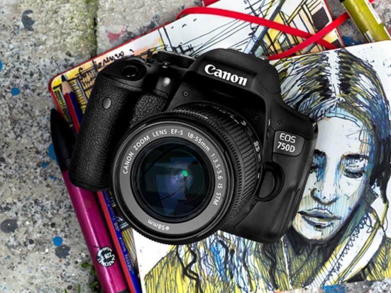 Kamera EOS 750D