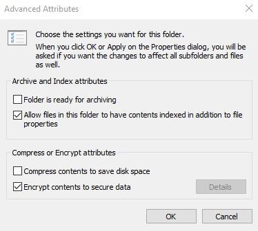 cara mengunci folder pakai enkripsi