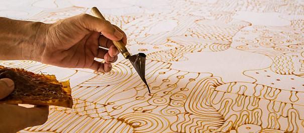 teknik pembuatan batik tulis